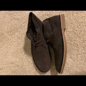 Robert Wayne Brown Suede Shoe
